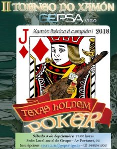 II TORNEO DE POKER DO XAMÓN